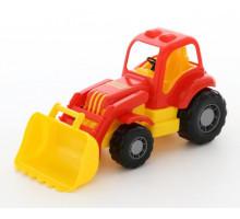 Игрушка Полесье трактор-погрузчик Силач арт. 45058