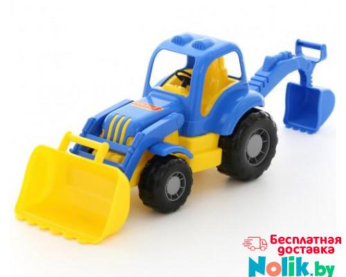 Детская игрушка  трактор-экскаватор Силач арт. 45065. Полесье в Минске