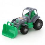 Детская игрушка Полесье Крепыш трактор-погрузчик арт. 44549