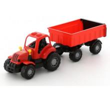 Детская игрушка  трактор с прицепом №1  Крепыш арт. 44792. Полесье