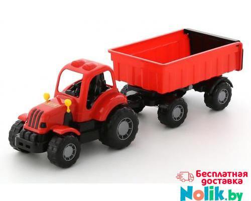 Детская игрушка  трактор с прицепом №1  Крепыш арт. 44792. Полесье в Минске