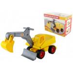 Детская игрушка Мега-экскаватор колёсный (в коробке) арт. 66220. Полесье