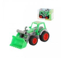 Фермер-техник трактор-погрузчик детская игрушка (в коробке) арт. 37787. Полесье