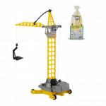 Детская игрушка Полесье башенный кран Агат на колёсиках малый (в пакете) арт. 56429