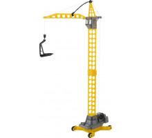 Детская игрушка кран башенный Агат на колёсиках большой (в пакете) арт. 57167. Полесье