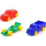 Детская игрушка автомобиль + набор автомобилей Мини (3 шт) (в пакете) арт. 55408. Полесье