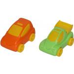 Детская игрушка автомобиль + набор автомобилей Беби Кар №1 (2 шт) (в пакете) арт. 56115. Полесье