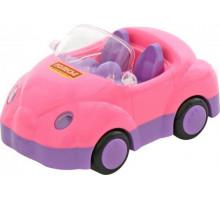 Детская игрушка автомобиль для девочек Улыбка арт. 4816. Полесье