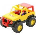 Детская игрушка автомобиль джип Вояж арт. 36636. Полесье
