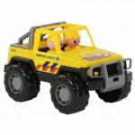 Детская игрушка автомобиль-джип скорая помощь Сафари (NL) (в сеточке) арт. 71118. Полесье