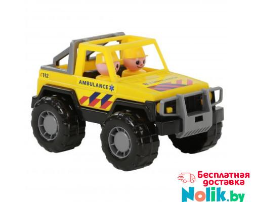 Детская игрушка автомобиль-джип скорая помощь Сафари (NL) (в сеточке) арт. 71118. Полесье в Минске