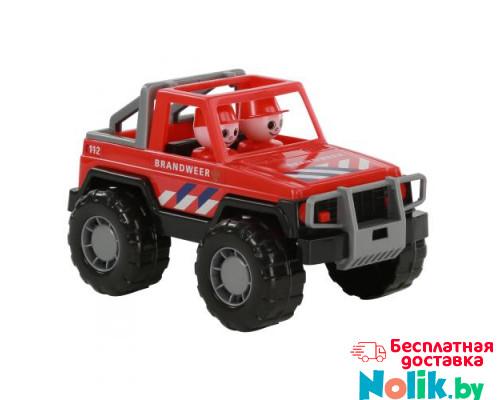 Детская игрушка автомобиль-джип пожарный Сафари (NL) (в сеточке) арт. 71095. Полесье в Минске