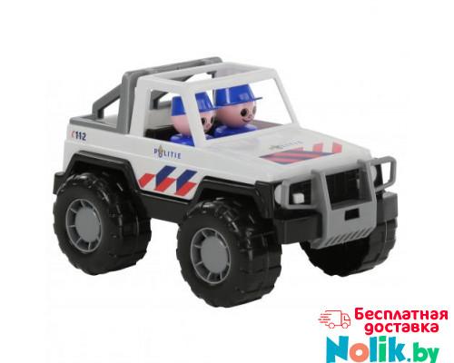 Детская игрушка автомобиль-джип полиция Сафари (NL) (в сеточке) арт. 71101. Полесье в Минске