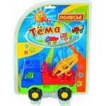 Детская игрушка автомобиль-эвакуатор (в блистере №2) Тёма арт. 4892. Полесье