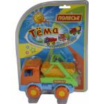 Детский автомобиль-коммунальная спецмашина (в блистере №2) Тёма арт. 4915. Полесье
