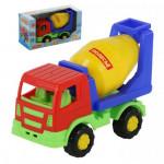 Детская машинка-бетоновоз (в коробке) Тёма арт. 68354. Полесье