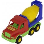 Детская игрушка автомобиль-бетоновоз Максик арт. 35158. Полесье