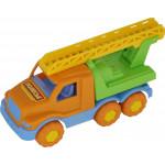 Детская игрушка автомобиль-пожарная спецмашина Максик арт. 35172. Полесье