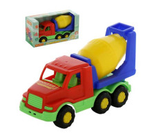 Детский автомобиль-бетоновоз (в коробке) Максик арт. 68309. Полесье