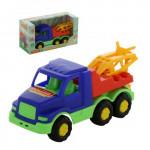 Детская игрушка автомобиль-эвакуатор (в коробке) Максик арт. 68316. Полесье