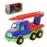 Детская игрушка автомобиль-пожарная спецмашина (в коробке) Максик арт. 68323. Полесье