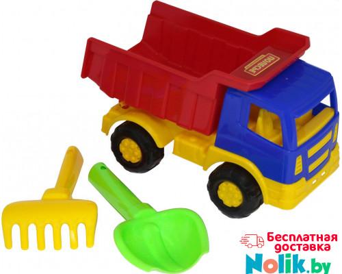Детская игрушка автомобиль-самосвал + совок, грабельки №188 арт. 8991. Полесье в Минске