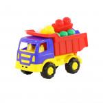 Детская игрушка   автомобиль-самосвал + конструктор №192 арт. 9035. Полесье