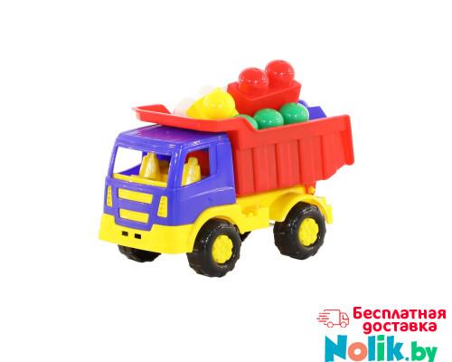 Детская игрушка   автомобиль-самосвал + конструктор №192 арт. 9035. Полесье в Минске
