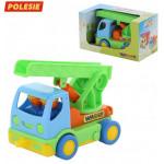 Детская игрушка автомобиль пожарный Мой первый грузовик (в коробке) арт. 40152. Полесье