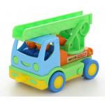 Детская игрушка автомобиль пожарный Мой первый грузовик (в сеточке) арт. 3225. Полесье