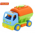 Детская игрушка автомобиль с цистерной Мой первый грузовик (в сеточке) арт. 5441. Полесье