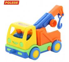 Детская игрушка автомобиль-эвакуатор Мой первый грузовик (в сеточке) арт. 5458. Полесье