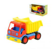 Детская игрушка автомобиль-самосвал (в коробке) Базик арт. 37602. Полесье