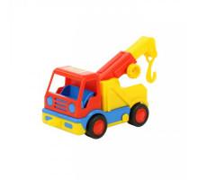 Детская машинка-эвакуатор (в сеточке) Базик арт. 9593. Полесье