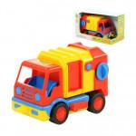 Детский автомобиль коммунальный, мусоровоз (в коробке) Базик арт. 37640. Полесье