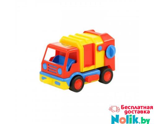 Детская игрушка автомобиль коммунальный, мусоровоз (в сеточке) Базик арт. 9609. Полесье в Минске