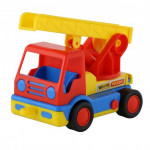 Детская игрушка автомобиль пожарный (в сеточке) Базик арт. 9678. Полесье