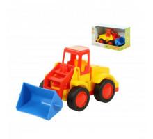 Детская игрушка  погрузчик (в коробке) Базик арт. 37619. Полесье