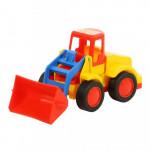 Детская игрушка  погрузчик (в сеточке) Базик арт. 9555. Полесье