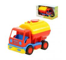 Детский автомобиль-бензовоз (в коробке) Базик арт. 38173. Полесье