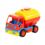 Детская игрушка автомобиль-бензовоз (в сеточке) Базик арт. 0315. Полесье