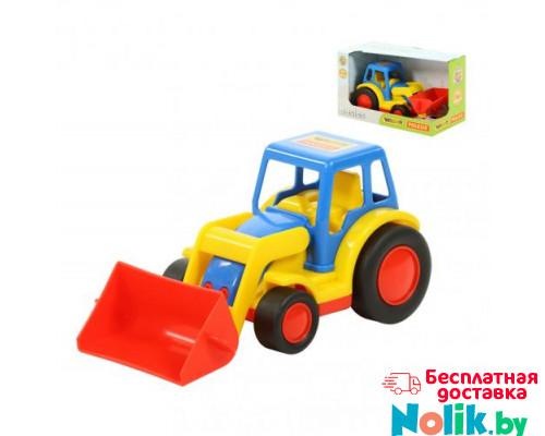 Детская игрушка  трактор-погрузчик (в коробке) Базик арт. 37626. Полесье в Минске