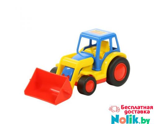 Детская игрушка  трактор-погрузчик (в сеточке) Базик арт. 9579. Полесье в Минске