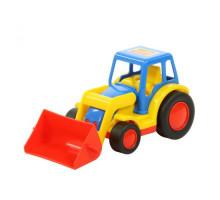 Детская игрушка  трактор-погрузчик (в сеточке) Базик арт. 9579. Полесье