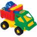 Детская игрушка  машинка + 2 формочки, лопатка, грабельки №12 арт. 1252. Полесье в Минске