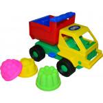 Детская игрушка автомобиль Кузя + 3 формочки №13 арт. 1269. Полесье