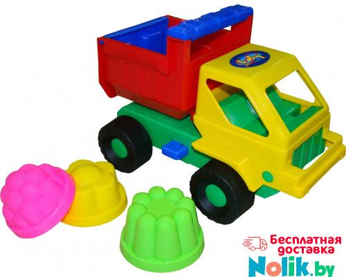 Детская игрушка автомобиль Кузя + 3 формочки №13 арт. 1269. Полесье в Минске