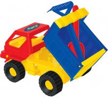 Детская игрушка автомобиль Кузя + лопатка, грабельки №14 арт. 1276. Полесье