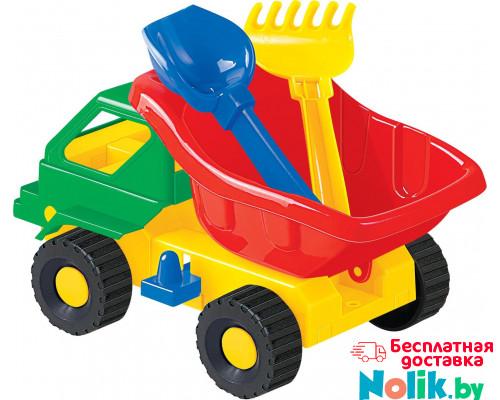 Детская игрушка автомобиль Кузя-2 лопатка и грабельки  арт. 2808. Полесье в Минске