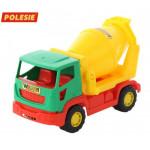 Детская игрушка автомобиль-бетоновоз Агат арт. 41609. Полесье